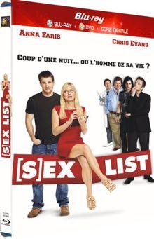 Sex list [Blu-ray]
