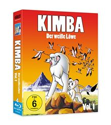 Kimba - Der weiße Löwe - Box 1 [Blu-ray]