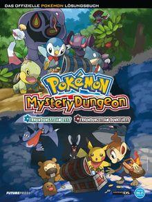 Pokémon Mystery Dungeon: Erkundungsteam Zeit/Erkundungsteam Dunkelheit - Das offizielle Pokémon Lösungsbuch