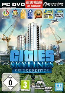 Cities: Skylines - Deluxe Edition (exklusiv bei Amazon.de) - [PC]