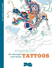 Inspiration tattoos : 50 coloriages anti-stress