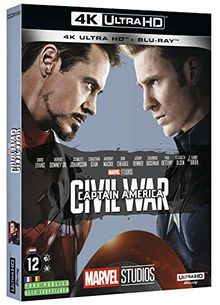 Captain america 3 : civil war 4k ultra hd [Blu-ray] [FR Import]