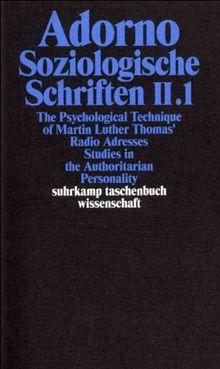 Gesammelte Schriften in 20 Bänden: Band 9: Soziologische Schriften II. 2 Bände (suhrkamp taschenbuch wissenschaft)