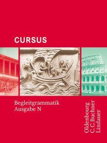 Cursus N Cursus Ausgabe N Begleitgrammatik Einbandiges Unterrichtswerk Fur Latein In Nordrhein Westfalen Von Friedrich Maier