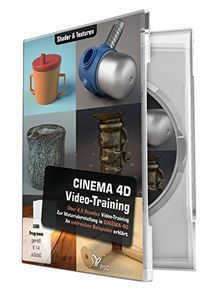 CINEMA 4D-Video-Training-Shader & Texturen (Win+Mac)