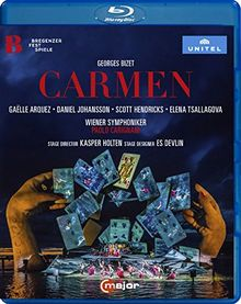 Georges Bizet: Carmen (Bregenzer Festspiele 2017) [Blu-ray]