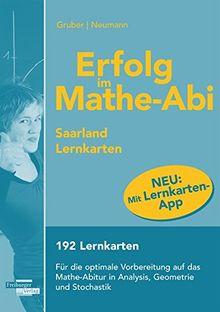 Erfolg im Mathe-Abi Lernkarten mit App Saarland