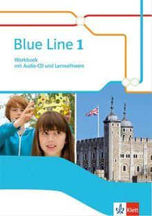 Blue Line / Workbook mit Audio-CD und Übungssoftware: Ausgabe 2014