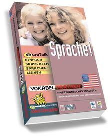Vokabeltrainer Amerikanisches Englisch, 1 CD-ROM Grundwortschatz und Redewendungen. Windows 98/NT/2000/ME/XP und Mac OS 8.6 und höher