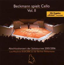 Beckmann Spielt Cello Vol.2