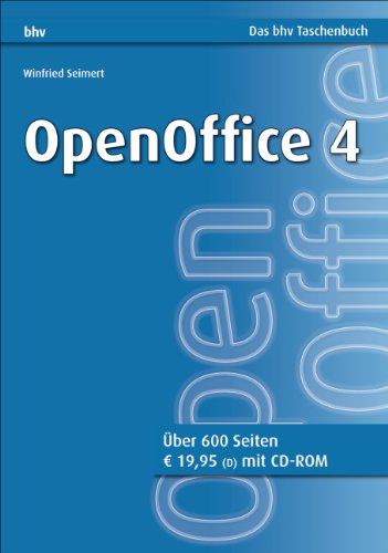 Openoffice 4 Bhv Taschenbuch