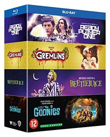 Coffret années 80 4 films : les goonies ; gremlins ; beetlejuice ; ready player one [Blu-ray] [FR Import]