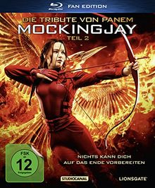 Die Tribute von Panem - Mockingjay Teil 2 - Fan Edition [Blu-ray]