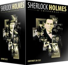 Coffret 20 DVD Sherlock Holmes : l'integrale