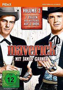 Maverick, Vol. 2 / Weitere sieben Folgen der legendären Westernserie mit James Garner + Bonusfolge mit Clint Eastwood (Pidax Western-Klassiker) [2 DVDs]