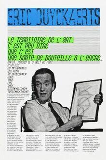 Éric Duyckaerts: Le territoire de l'art... (F)