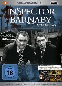 Inspector Barnaby - Collector's Box 1, Vol. 1-5 (20 Discs)