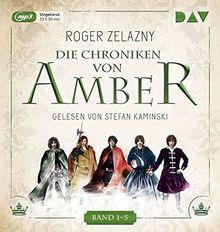 Die Chroniken von Amber. Band 1-5: Ungekürzte Lesungen mit Stefan Kaminski (5 mp3-CDs)