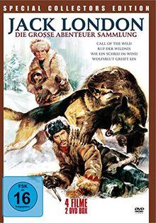 Jack London - Die große Abenteuer Sammlung [2 DVDs]