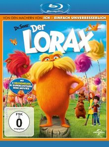 Der Lorax (inkl. Digital Copy Disc) [Blu-ray]