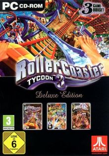 Rollercoaster Tycoon 3 - Deluxe Edition [Software Pyramide]