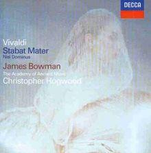Vivaldi - Stabat Mater · Nisi Dominus / Bowman · AAM · Hogwood