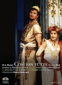Wolfgang Amadeus Mozart - Cosi fan tutte [2 DVDs]