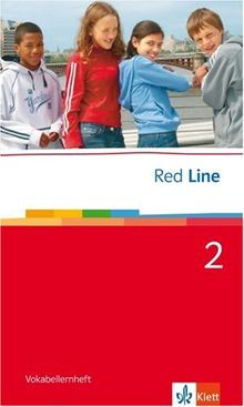 Red Line. Unterrichtswerk für Realschulen: Red Line Band 2. Klasse 6. Vokabellernheft: BD 2