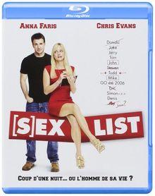 Sex list [Blu-ray] [FR Import]