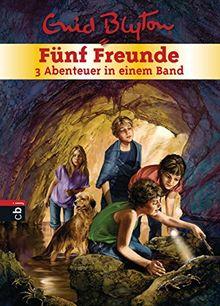 Fünf Freunde - 3 Abenteuer in einem Band: Sammelband 4 (Doppel- und Sammelbände, Band 4)