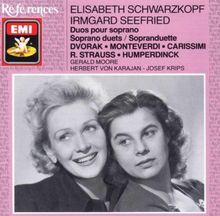 Elisabeth Schwarzkopf und Irmgard Seefried singen Duette