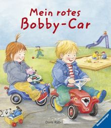 Mein rotes Bobby-Car