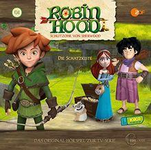 """Robin Hood - Schlitzohr von Sherwood """"Die Schatzkiste"""", Folge 1 - Das Original-Hörspiel zur TV-Serie"""