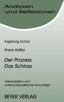 Analysen Und Reflexionen Bd 42 Franz Kafka Der Prozeß