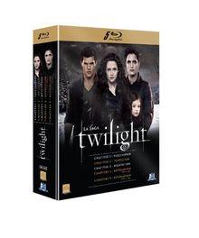 Coffret intégrale twilight chapitres 1 à 5 [Blu-ray]