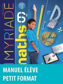 Maths 6e Myriade