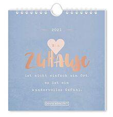 """Postkartenkalender 2021 """"Zuhause"""""""