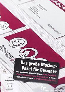 Das große Mockup-Paket für Designer (PC+Mac)