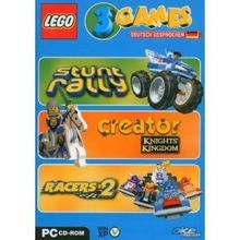 Lego 3 Games Pack (Stunt Rally / Creator Knights Kingdom / Racers 2)