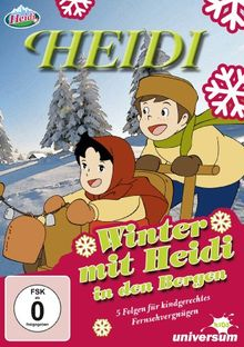 Heidi - Winter mit Heidi in den Bergen