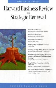 Harvard Business Review on Strategic Renewal