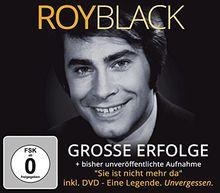 """Große Erfolge plus eine bisher unveröffentlichte Aufnahme """"Sie ist nicht mehr da""""- inkl DVD: Eine Legende. Unvergessen."""