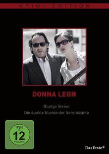 Donna Leon - Blutige Steine / Die dunkle Stunde der Serenissima (Krimi-Edition)