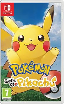 Pokemon: Let's go Pikachu Pegi Version Nintendo Switch