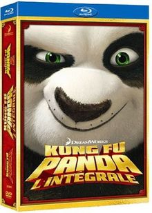 Kung fu panda 1 ; kung fu panda 2 [Blu-ray]