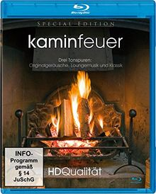 Kaminfeuer in HD (Blu-ray) [Special Edition]