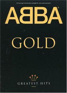 ABBA Gold Greatest Hits PVG: Songbuch für Klavier, Gesang und Gitarre (Music)