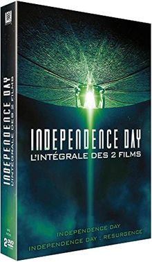 Coffret independence day 2 films : independence day 1 ; independence day 2 : resurgence