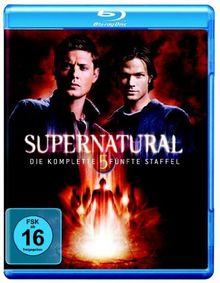 Supernatural - Staffel 5 [Blu-ray]