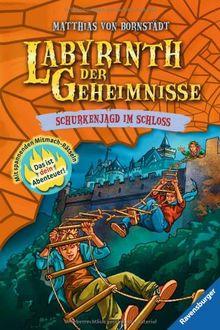 Labyrinth der Geheimnisse 5: Schurkenjagd im Schloss